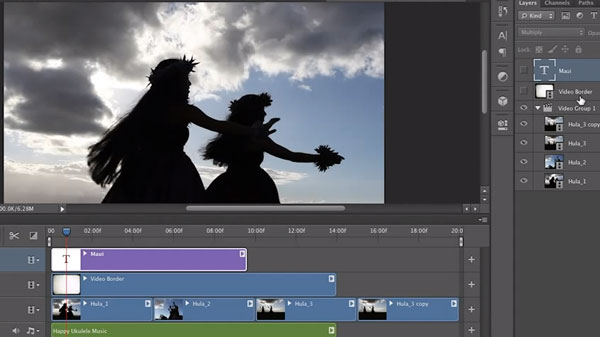 photoshop_CS6_Video_editing_timeline
