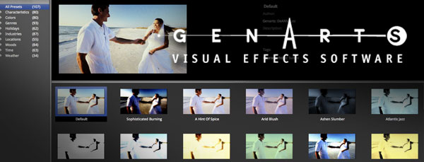 GenArts announce 'Edge' a new pack of 'look' plugins for