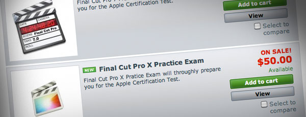 Getting certified in FCPX? Now you can take a practice exam