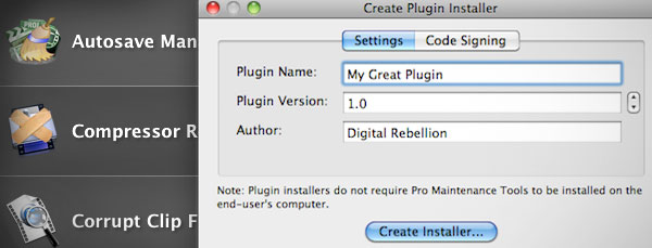 Creating signed installers to get your plugins and effects