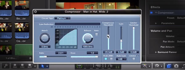 compressor final cut pro x
