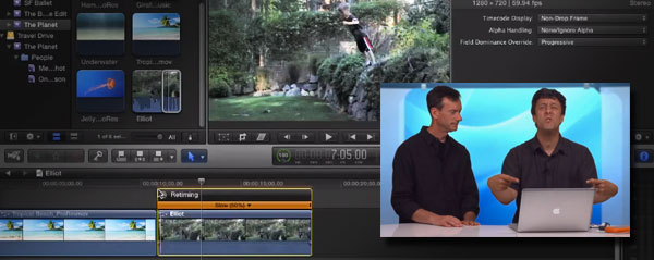 Conforming frame rates in Final Cut Pro X