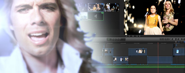 shine music video FCPX