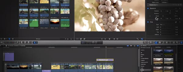 adjustment layers fcpx