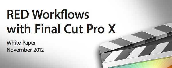 RED Workflow FCPX white paper