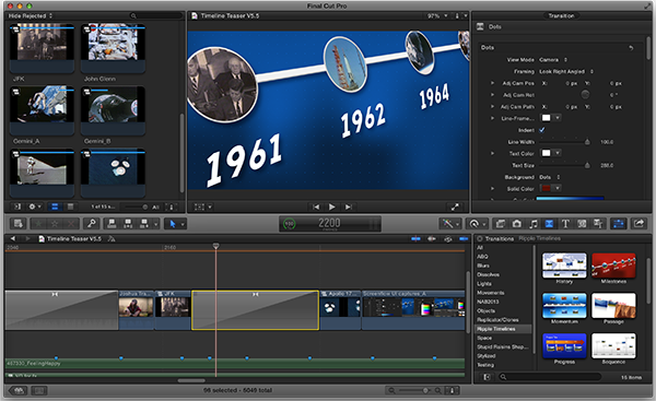 Ripple timelines 2 fcpx