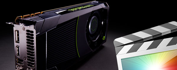Speeding up FCPX & Motion renders on a Mac Pro with a new NVIDIA