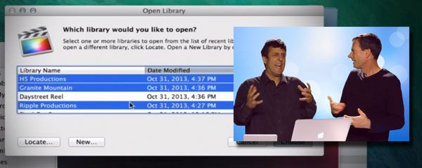 MBS Libraries FCPX 101 more