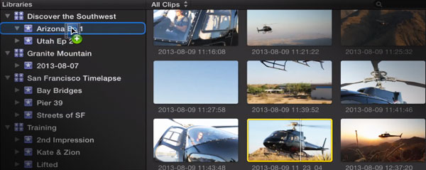 macbreak studio FCPX media libraries