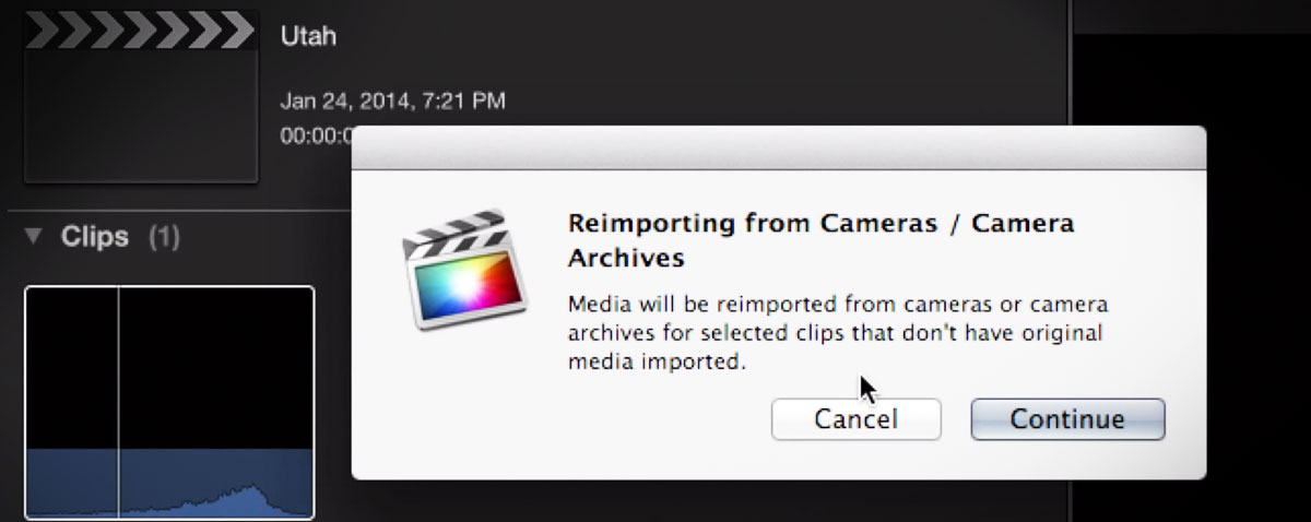MBS camera archives FCPX