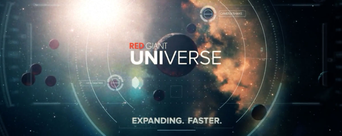 Red giant universe FCPX