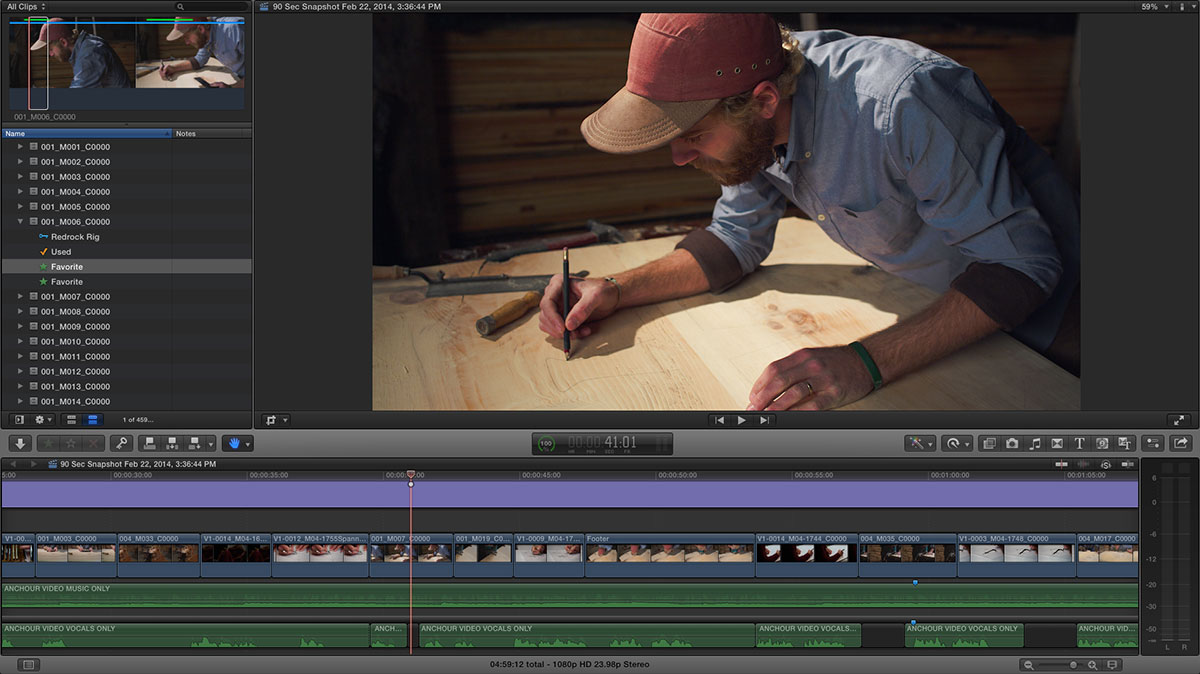anchour FCPX 3
