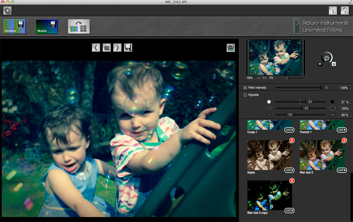 unlimted filters fcpx