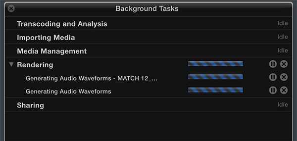 waveforms fcpx mac pro test