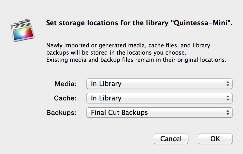 03.Storage settings dialog