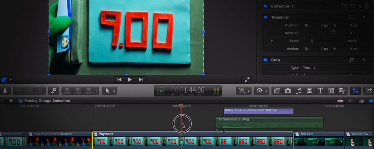 stop motion fcpx