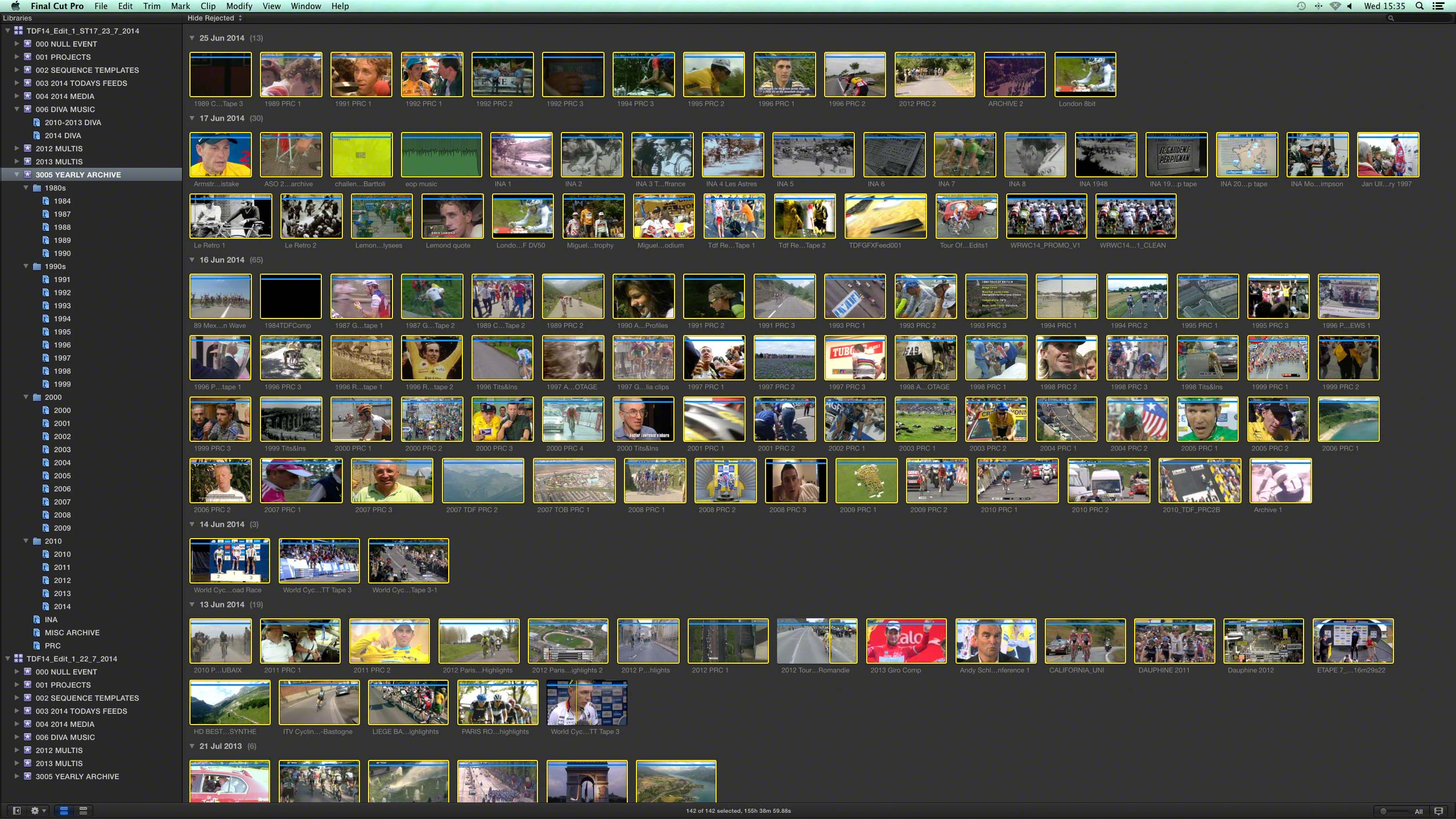 Editing the Tour de France on Final Cut Pro X