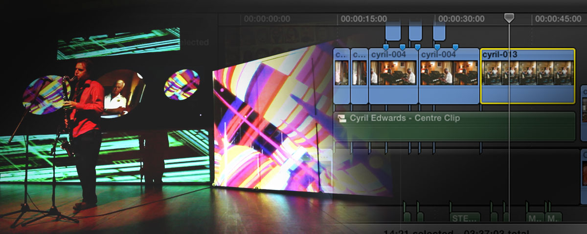 Rhythms of Life - A multiscreen live performance cut with Final Cut Pro X