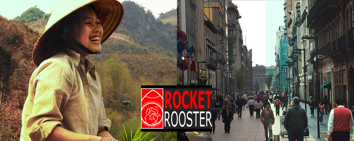 rocket rooster LUTS