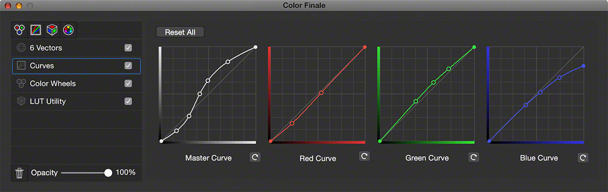 Curves in FCPX