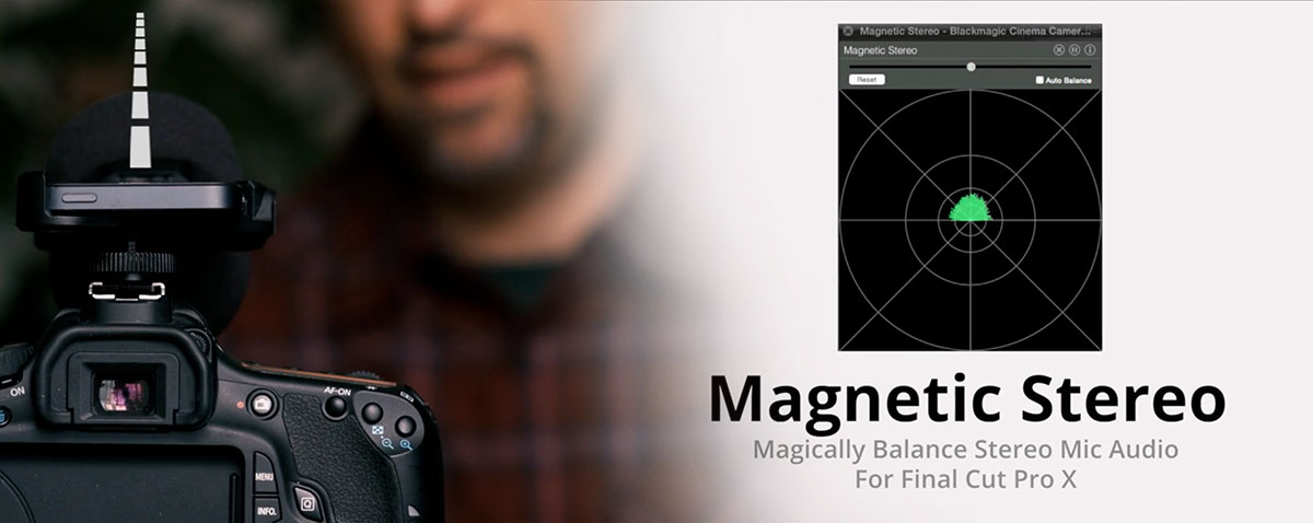magnetic stereo fcpx crumplepop
