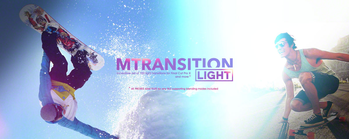 mtransition light fcpx