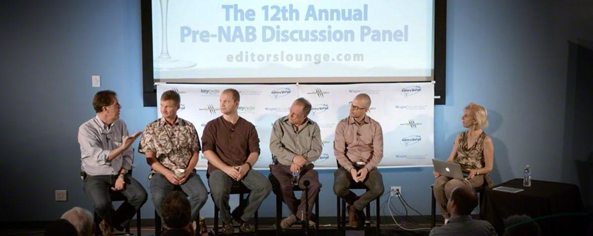 PreNAB Editors lounge panel
