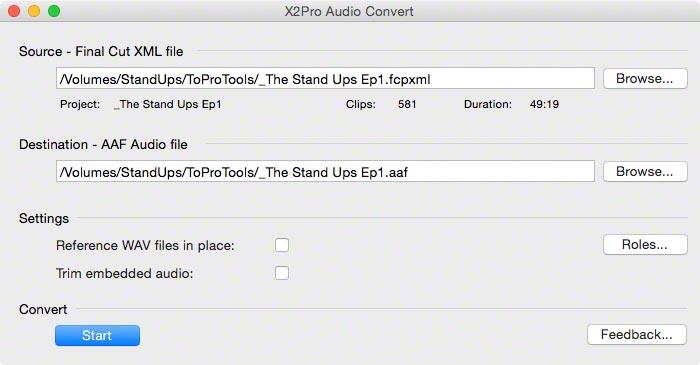 TSU2 X2PRO AudioConverter