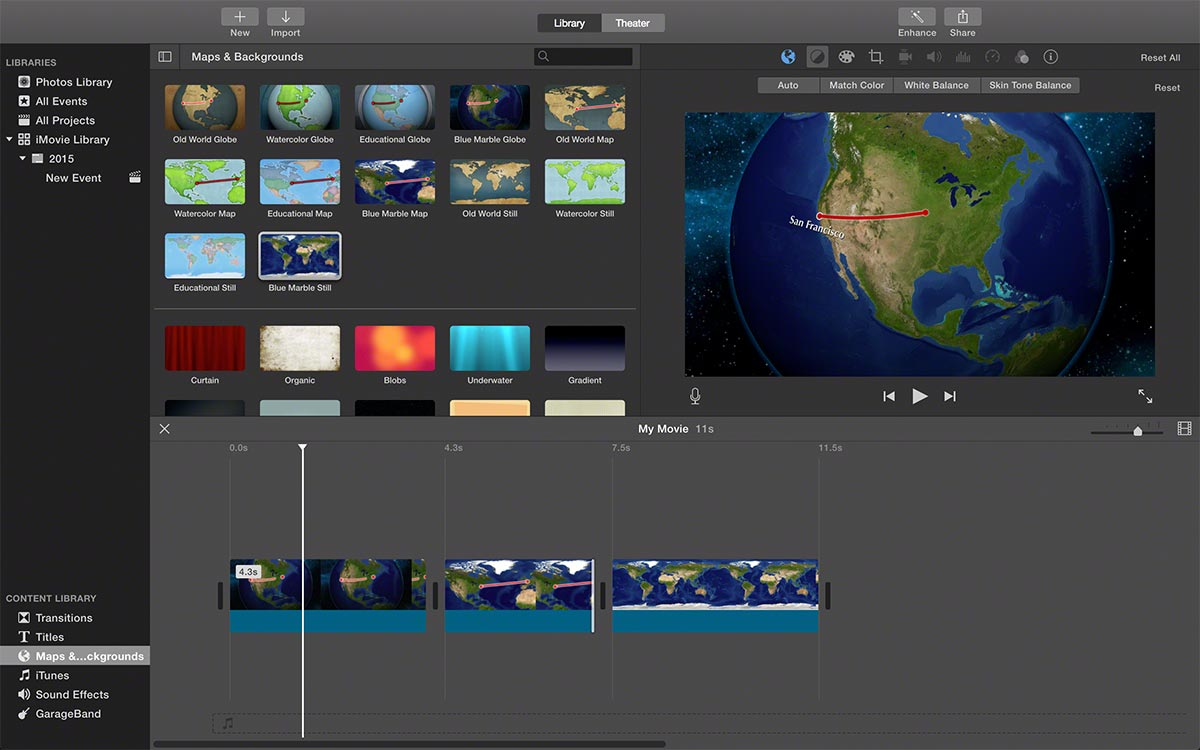 Drawing Lines In Final Cut Pro : Getting imovie world travel maps into final cut pro the easy way