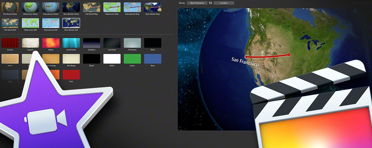Getting iMovie world travel maps into Final Cut Pro X the ... on firefox animation, after effects animation, time machine animation, acrobat animation,