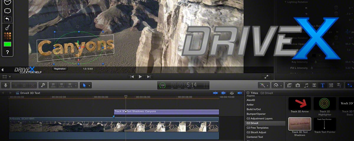 DriveX-FCPX