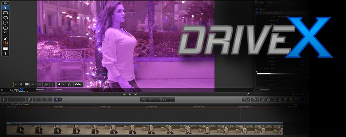 Review DriveX-FCPX