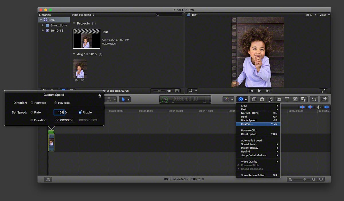Live photo fcpx 4