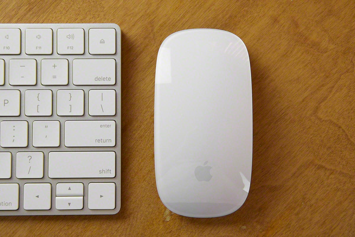 magic mouse keyboard fcpx 2