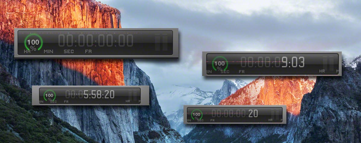 timecode window bug fcpx