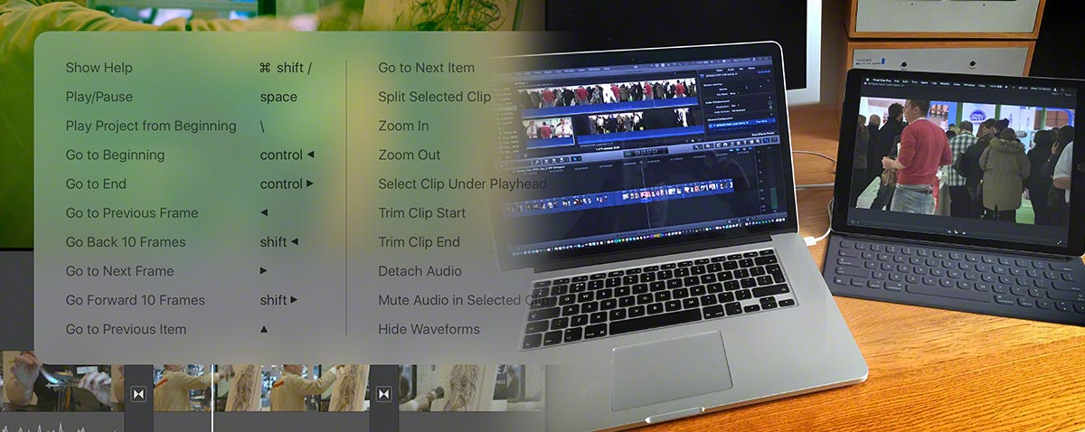 astropad duet FCPX ipad pro