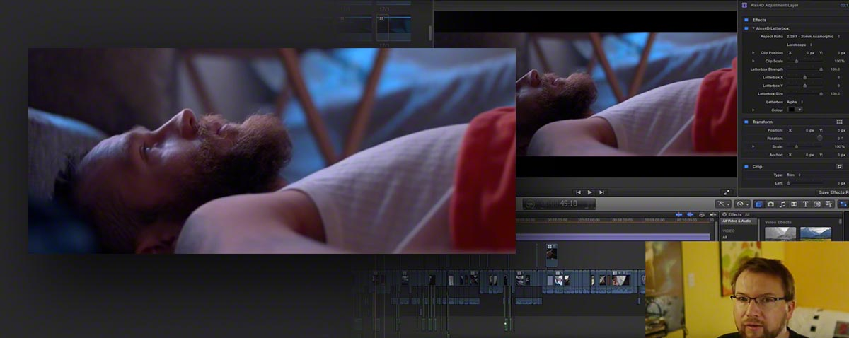 Follow a Final Cut Pro X editor edit a feature film online