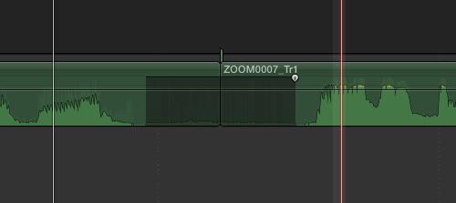 collapsed audio