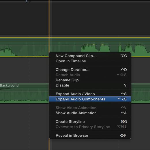 expanding audio components