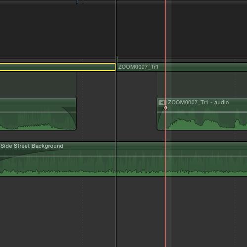 trimming audio