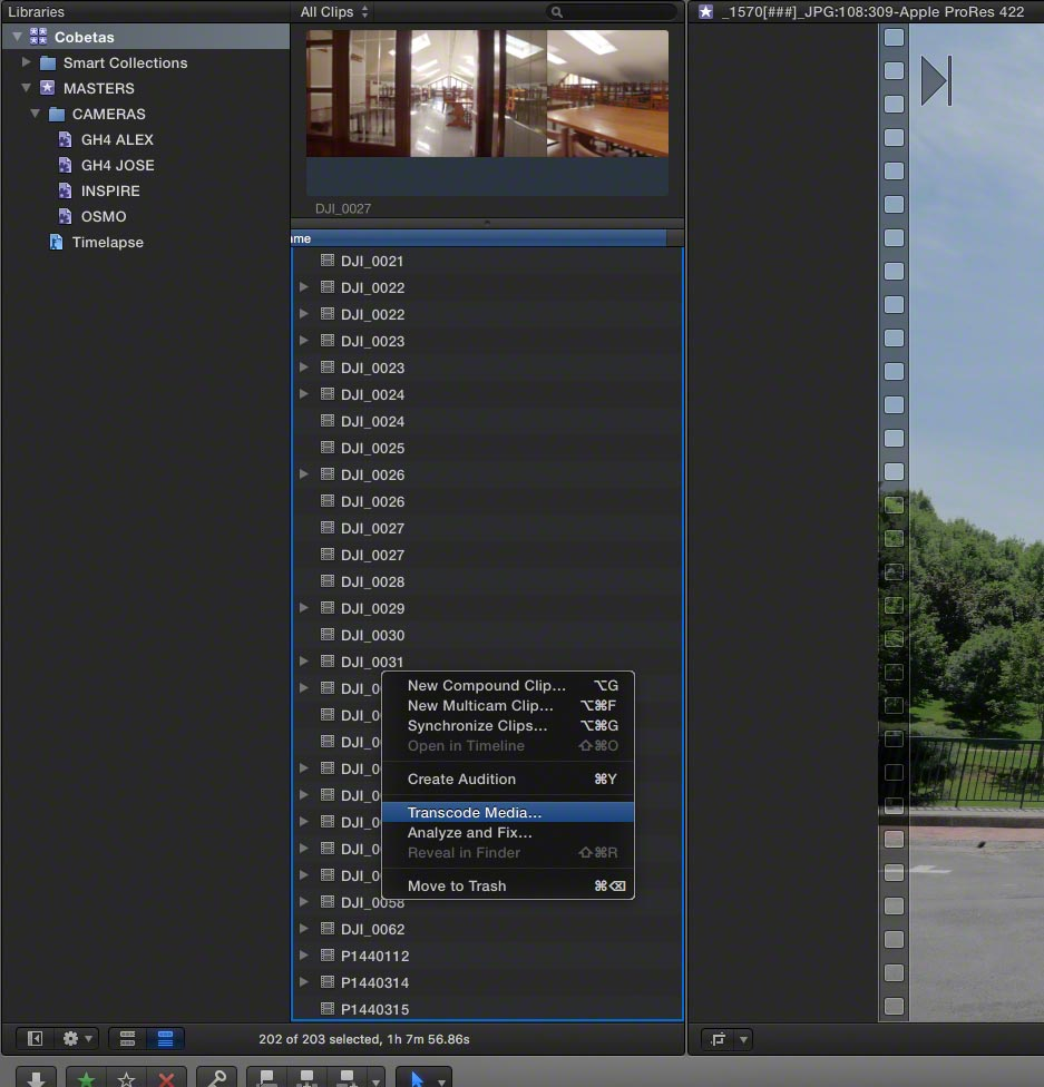 FCPX Proxies 03