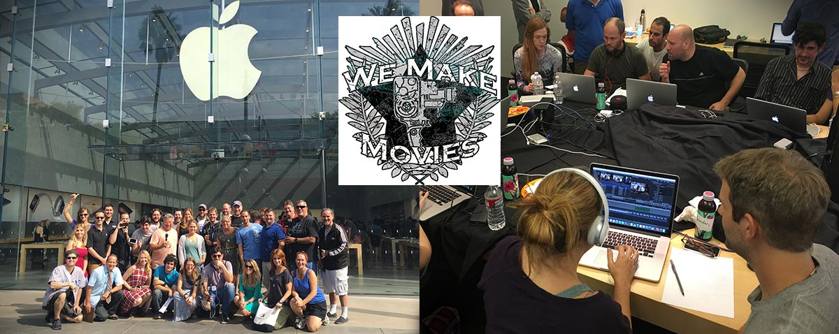 we make movies banner fcpx
