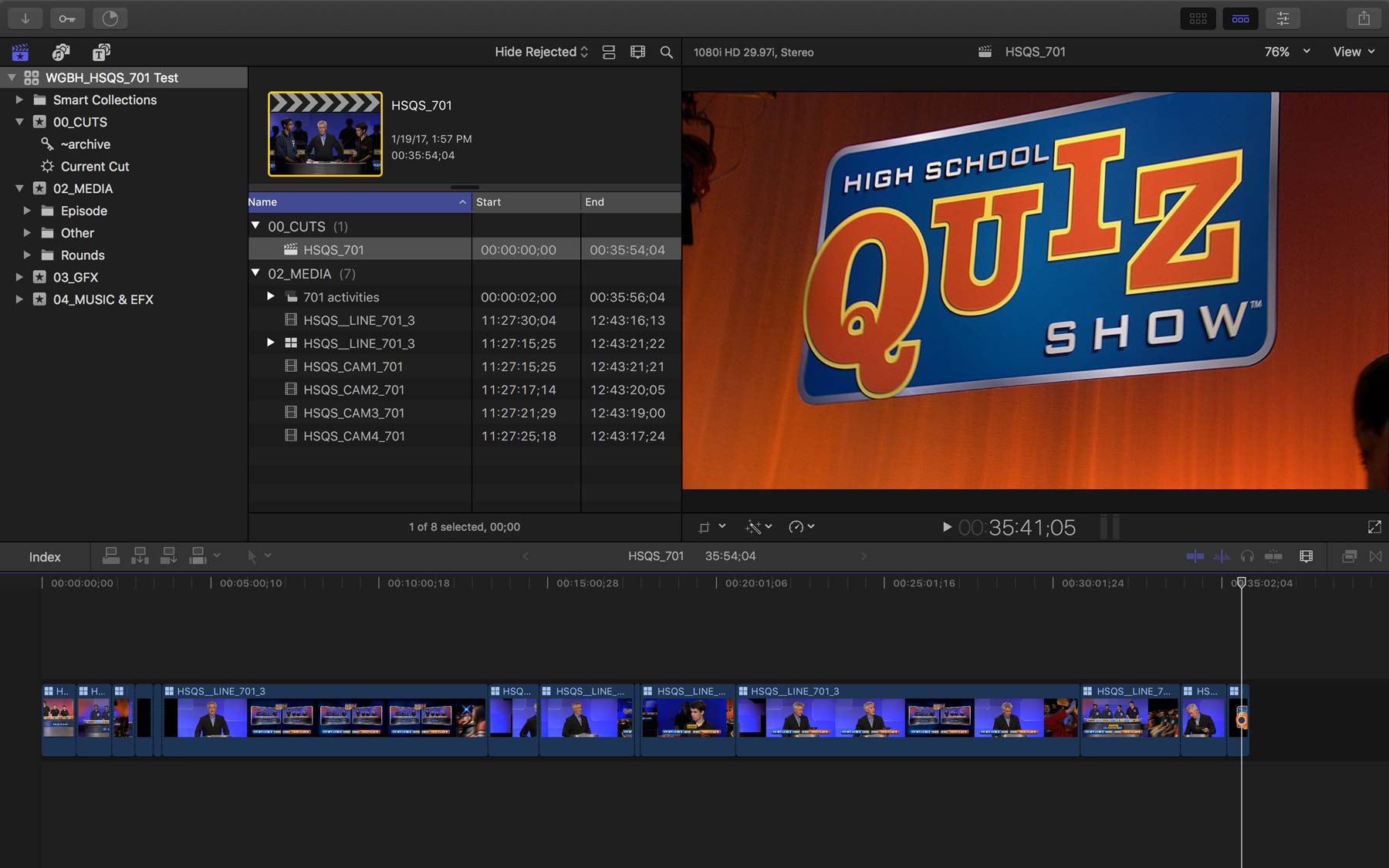 FCPX Quiz Show 20