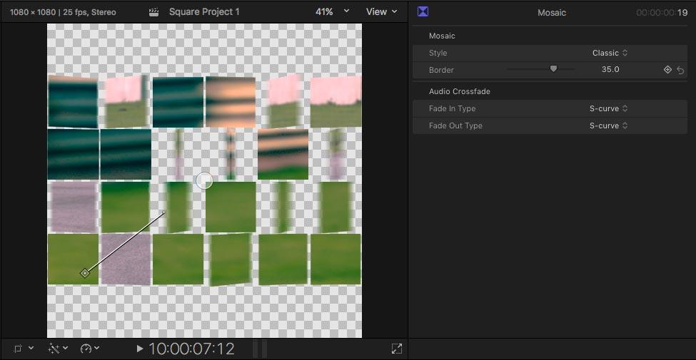 square video fcpx 10