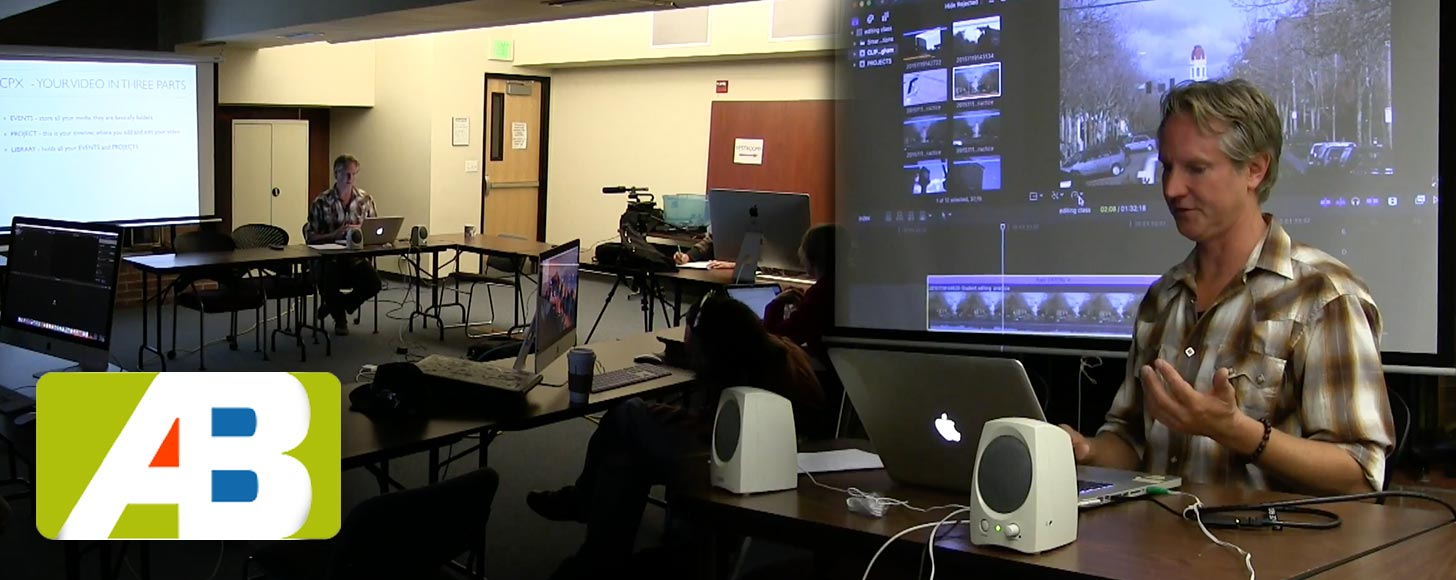 Learning Final Cut Pro X With Public Access TV in Bellingham