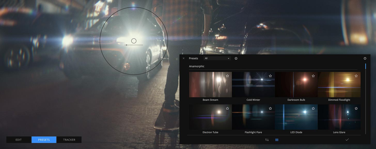 MotionVFX Adds Mocha Tracking and Real Life Lens Flare Elements in mFlare 2