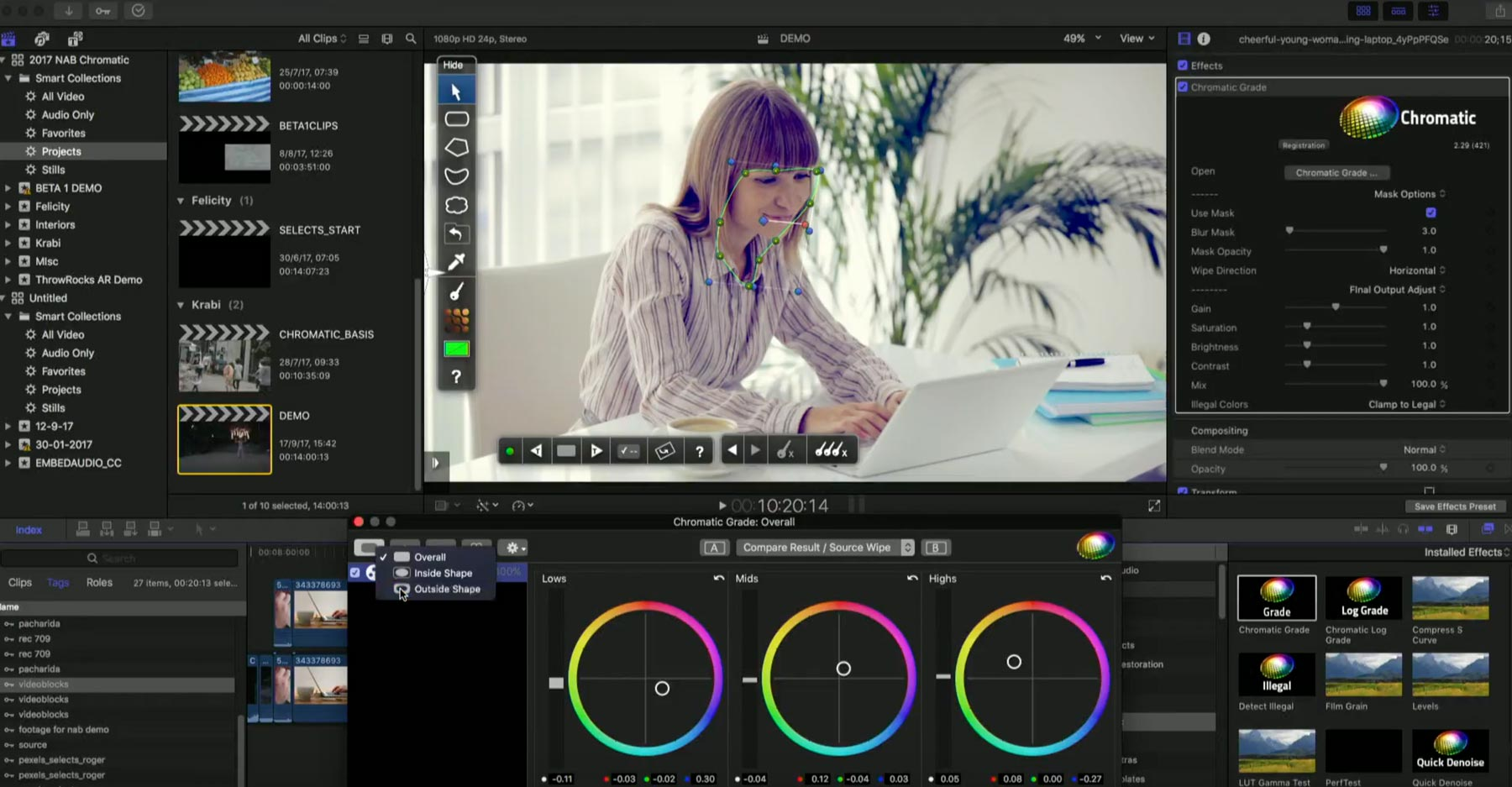 FCPX World Coremelt 02