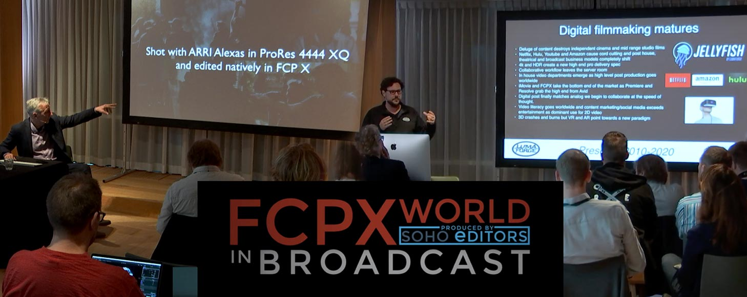 Sam Mestman and Ronny Courtens talk about the relevance of Final Cut Pro X in modern post production
