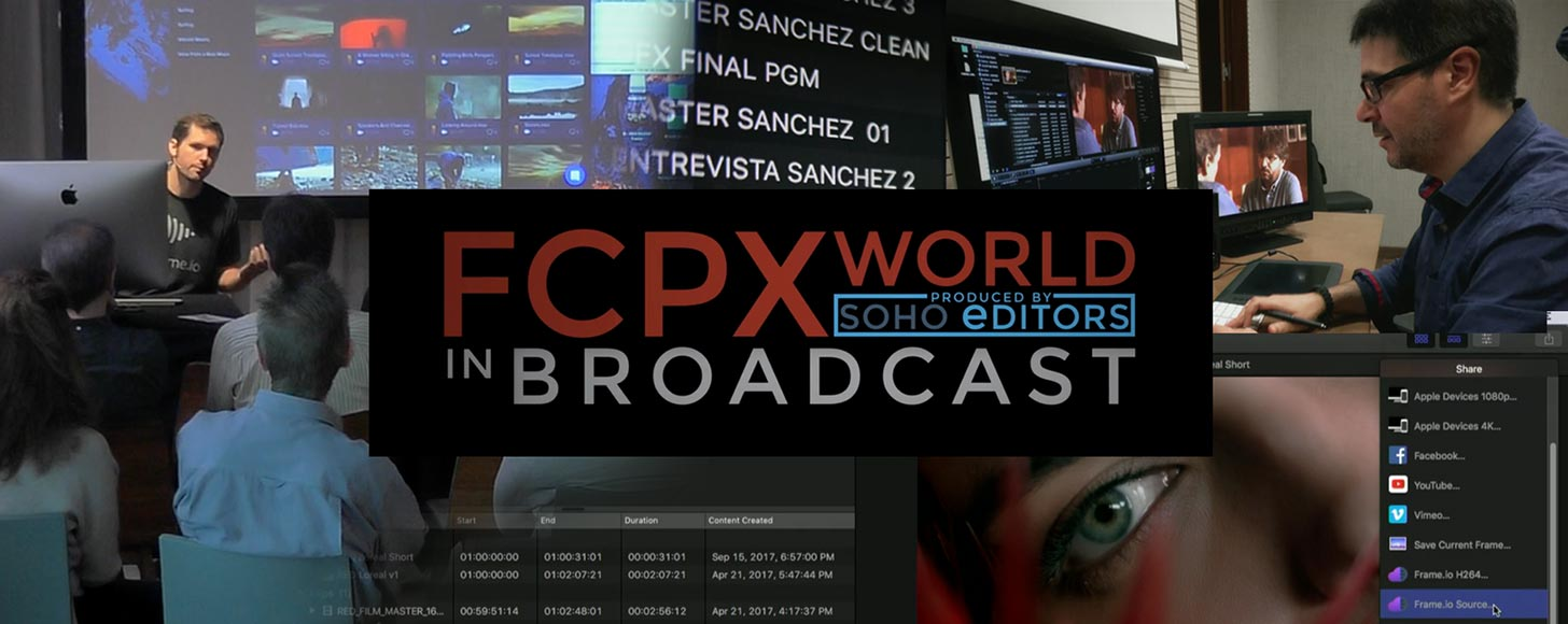 The Videos From FCPX World In Broadcast At IBC, Part 2