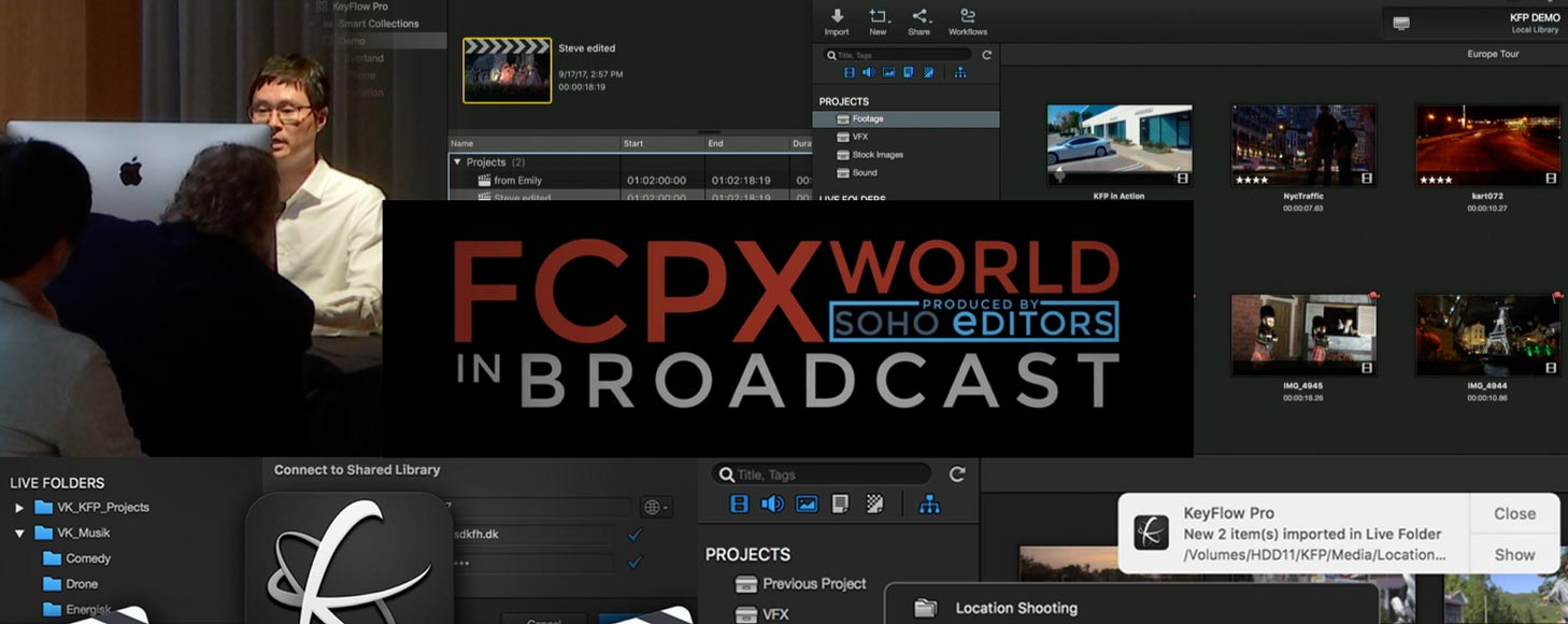 KeyFlow Pro Has Been updated to 1.8.2, Enhancing Project Collaboration in Final Cut Pro X